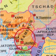 kamerun-karte